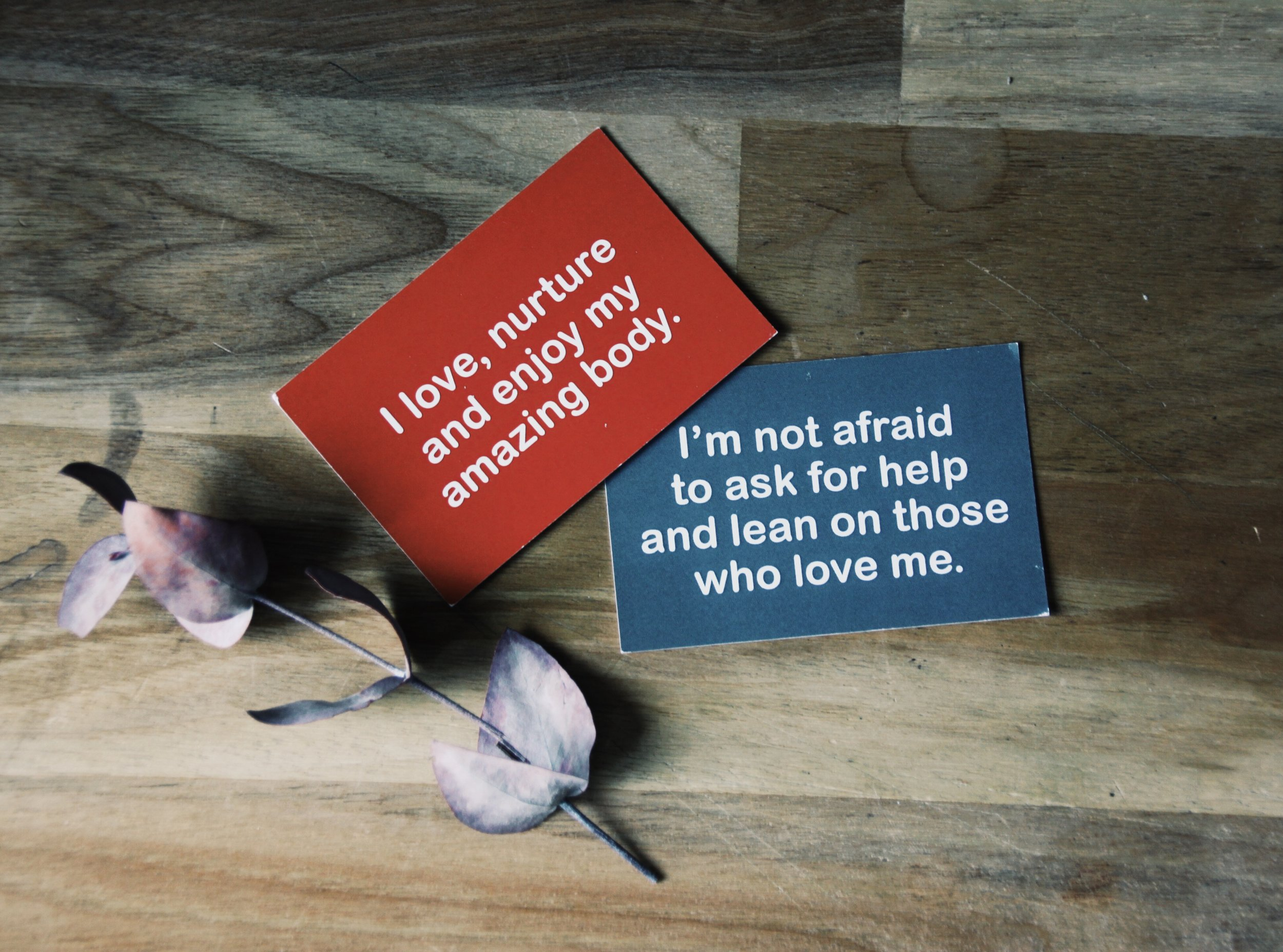 YesMum motherhood affirmation cards from  here