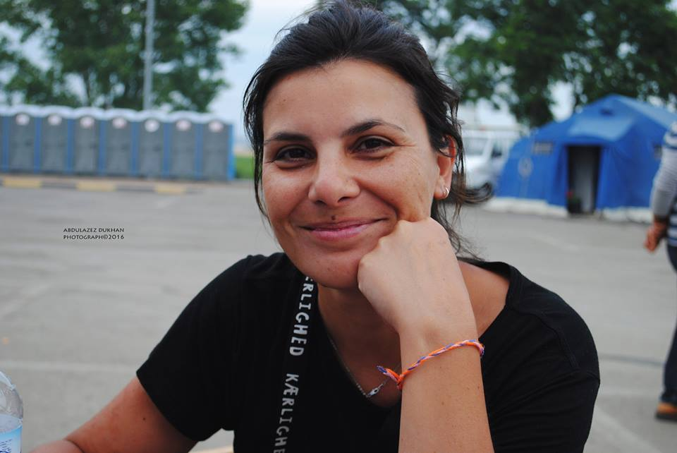 """founder: Mariana - """"I believe we make the difference in the time we take to sit with refugees until they understand their situation fully …. because any news, whether good or bad, is better than uncertainty."""""""