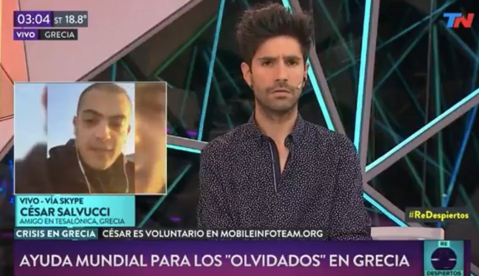 Interview with MIT member Cesar Salvucci  - TN Argentina - 29/11/2017