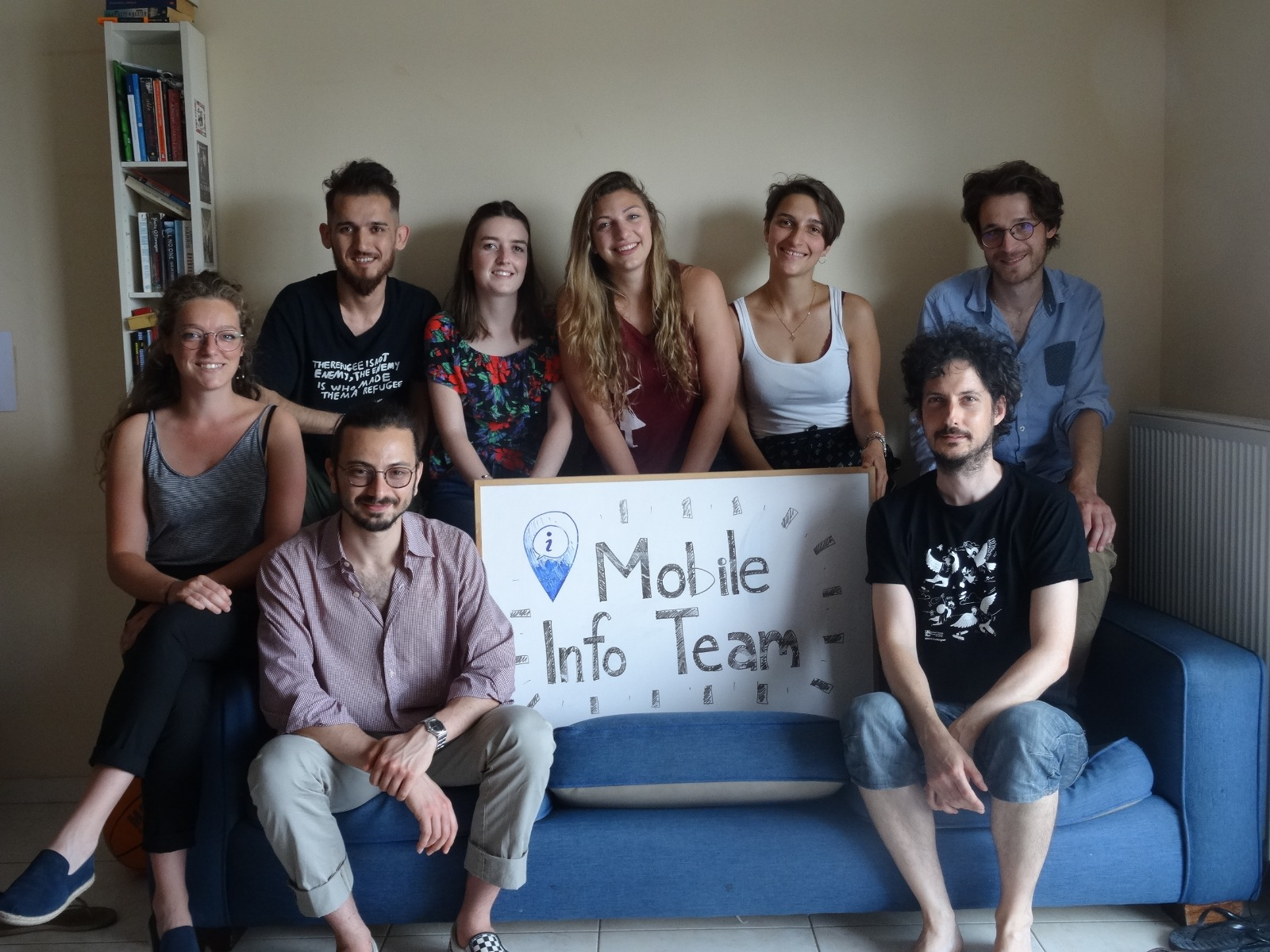 New faces in the Mobile Info Team -