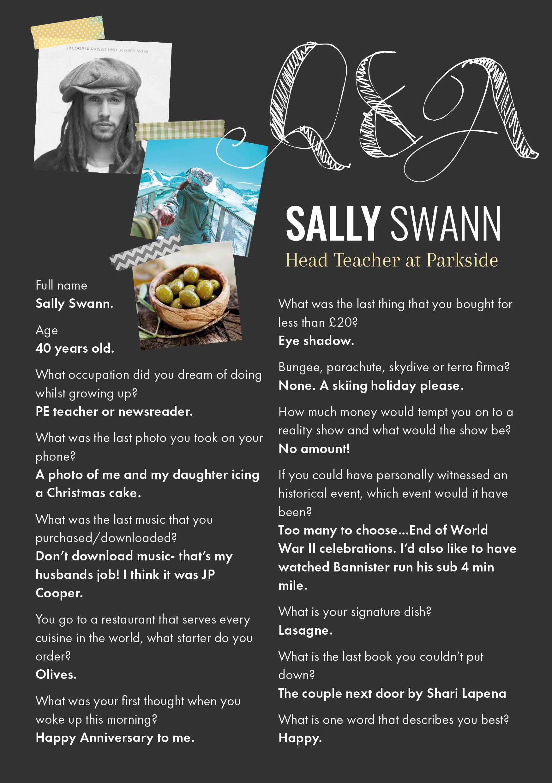 Q&A Sally Swann