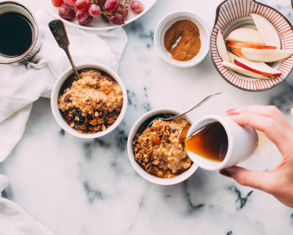 porridge, honey, week under £20, student