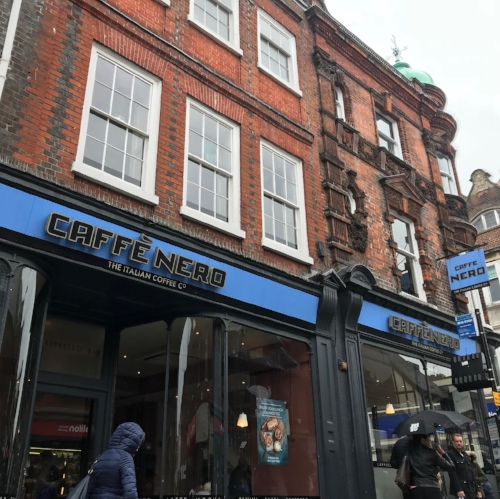 cafe nero, ipswich, study place
