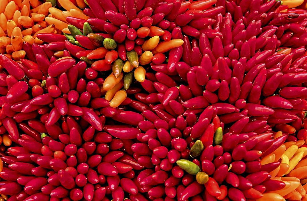 chilli peppers spicy