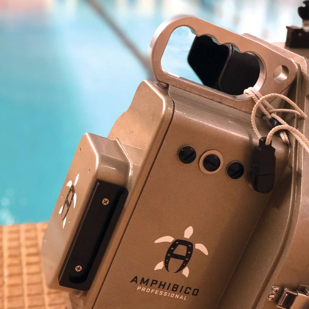 Offset Films' Amphibico Professional underwater camera – a great piece of kit!