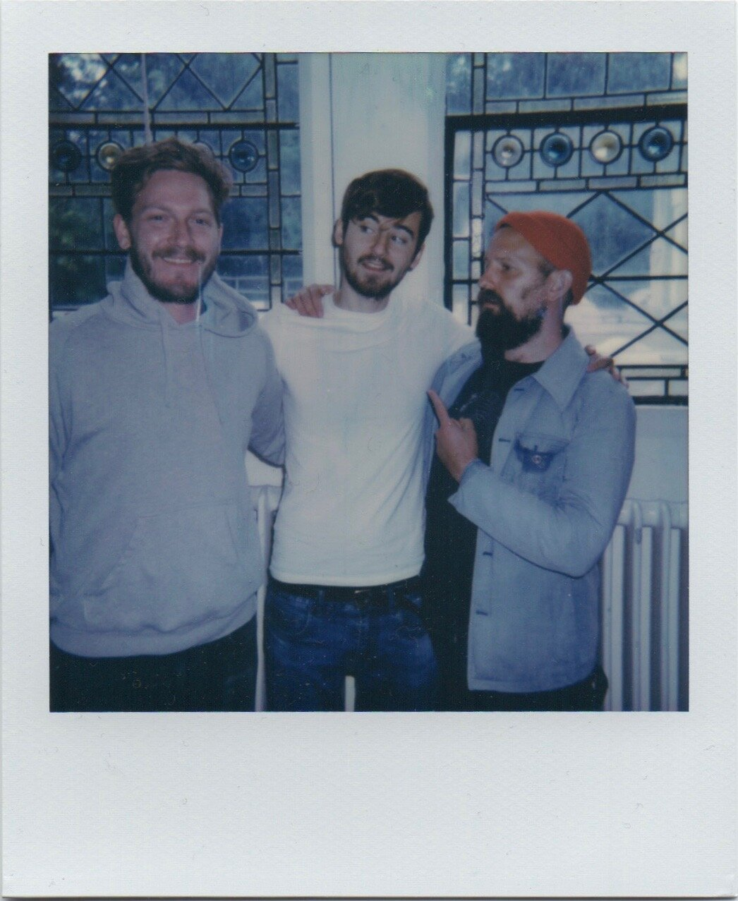 A parting picture with Hidden Notes founders - Adam Hinks & Alex Hobbis