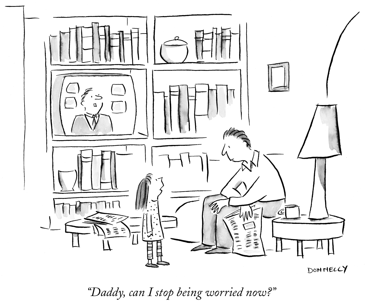 © The New Yorker and Liza Donnelly, 2001.