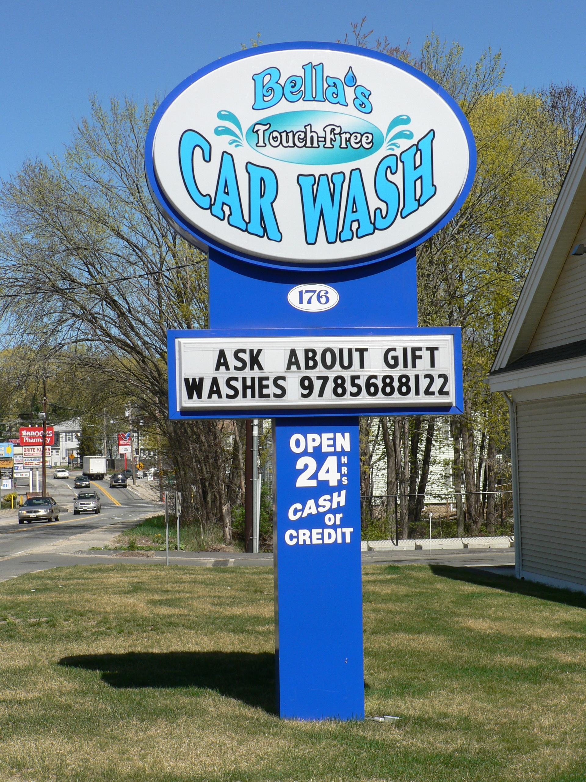 Bella's Car Wash - Hudson, MA