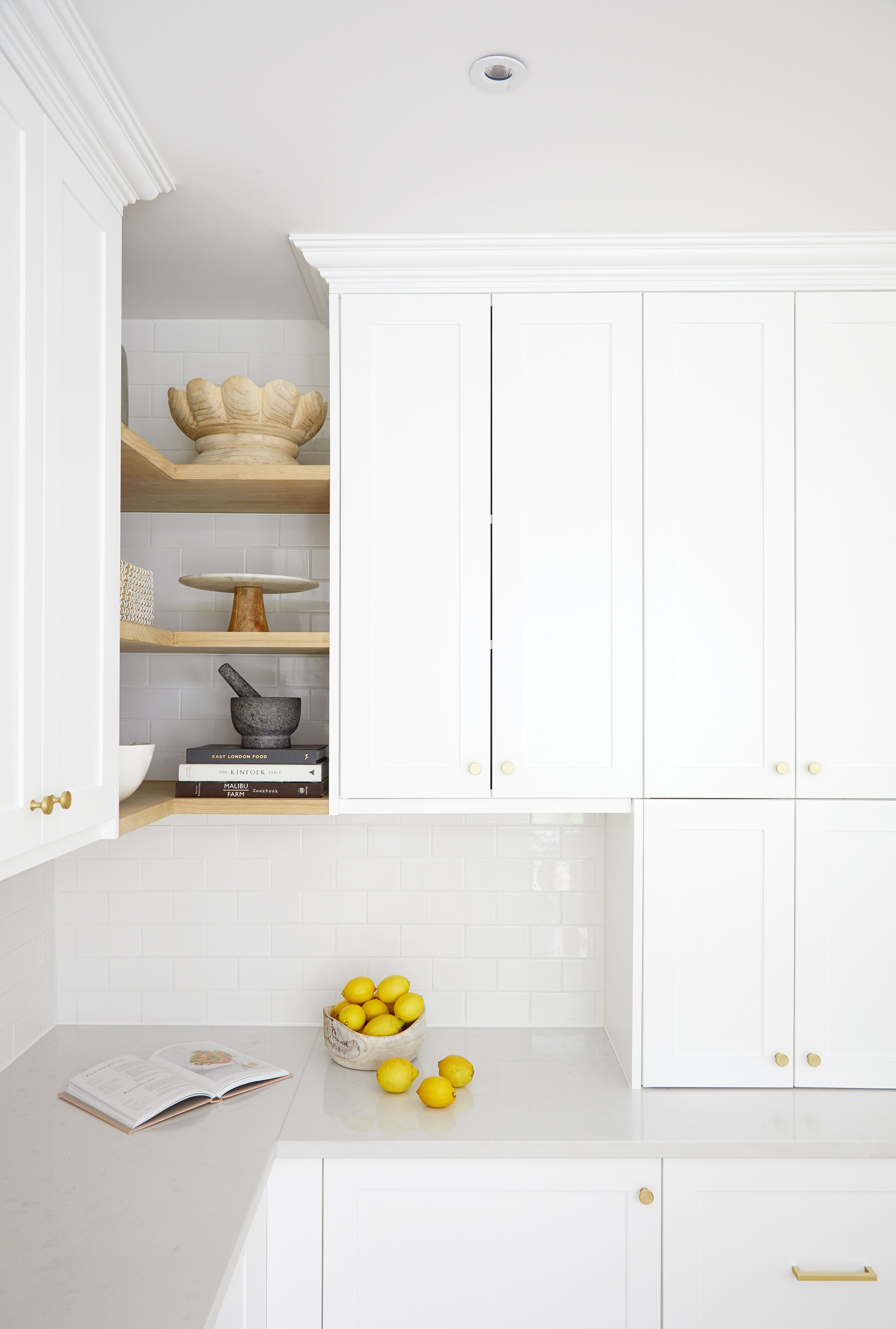 Light and Bright Kitchen by London based interior designer Donnie Wales Interiors