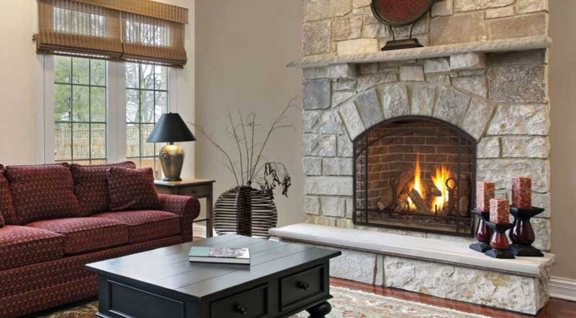 American Eagle Fireplace And Playsets