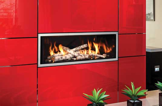 Mendota FullView Décor Linear Gas Fireplace - Luxury from a new perspective