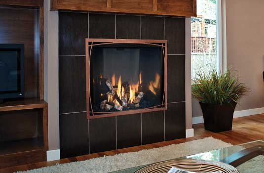 Mendota FullView Décor Gas Fireplace - Endless possibilities start here