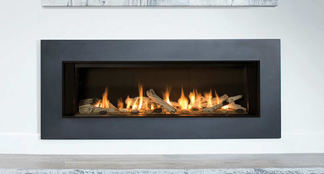 L2 Linear Series Zero Clearance Fireplaces - A bold statement in any living space, the L2 is luxury fireplace design at its finest.