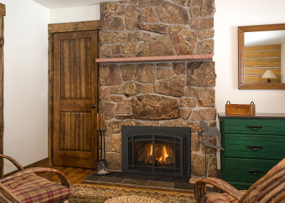 Chaska 25 Gas Fireplace Insert - The smallest gas insert fireplace. Available with traditional log set.