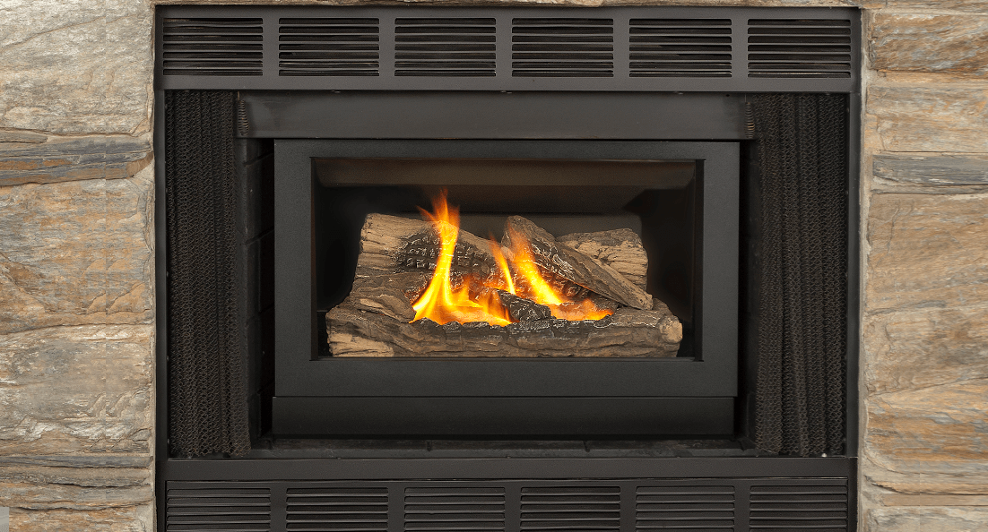 Retrofire Gas Fireplace Insert - Easily turn your existing fireplace into an energy efficient heat source with the Retrofire.