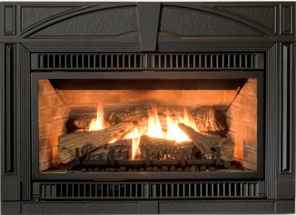 GI 450 DV II Katahdin Gas Insert - The perfect combination of technology and timeless cast iron design.
