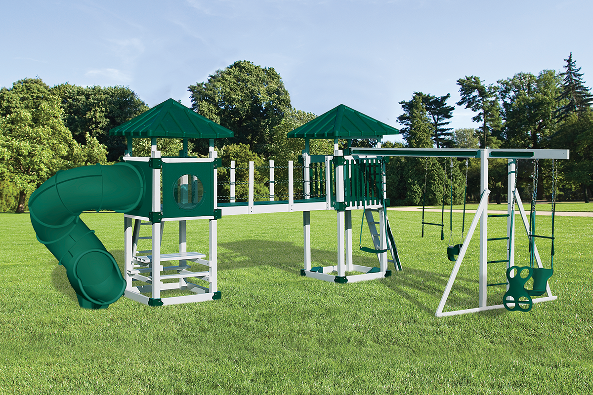A-7 Deluxe Playset - Price: $7,713 Free Installation!