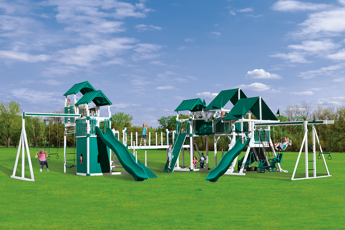 KRC Extreme Playset - Price: $26,973 Free Installation!