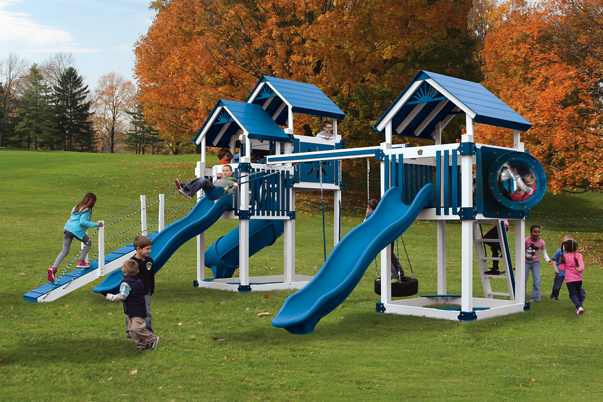 RL-6 Combo Tower Playset - Price: $11,610 Free Installation!