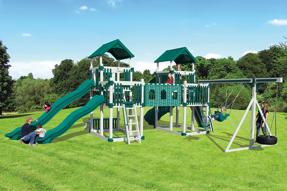 RL-1 Adventure Playset - Price: $14,896 Free Installation!