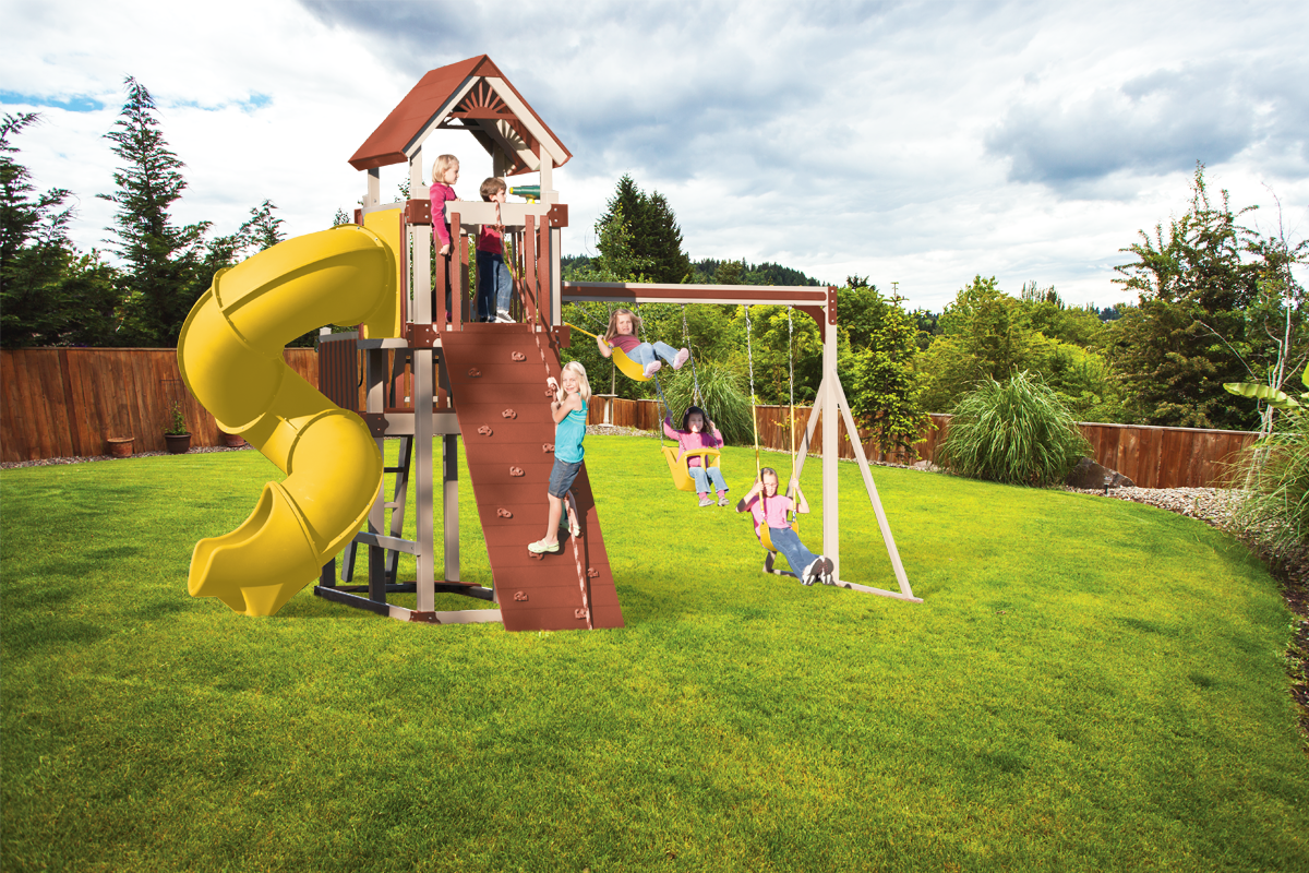 KTB-2 Turbo Tower Playset - Price: $6,481 Free Installation!