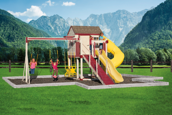 C-2 Turbo Escape Playset - Price: $6,456 Free Installation!