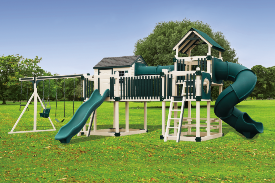 C-3 Tunnel Escape Playset - Price: $12,504 Free Installation!