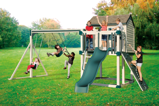 C-4 Hideout Playset - Price: $4,713 Free Installation!