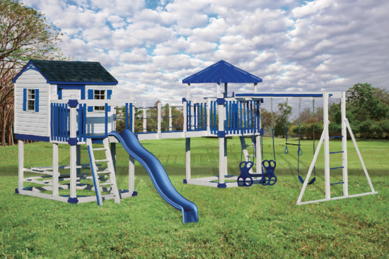 C-5 Castle Playset - Price: $8,295 Free Installation!