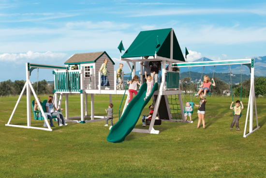 C-8 Bridge Escape Playset - Price: $10,092 Free Installation!