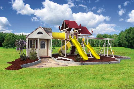 SK-60 Cottage Escape Playset - Price: $15,170 Free Installation!