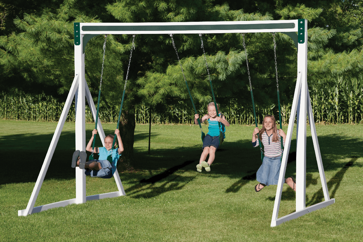 Free Standing Swing Set - Price: $1,313