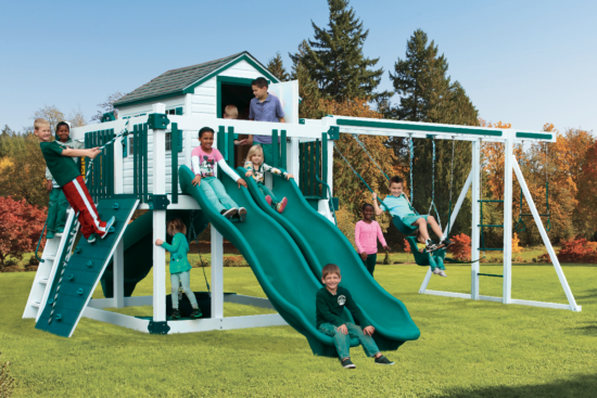 C-10 Hideout Playset - Price: $8,909 Free Installation!