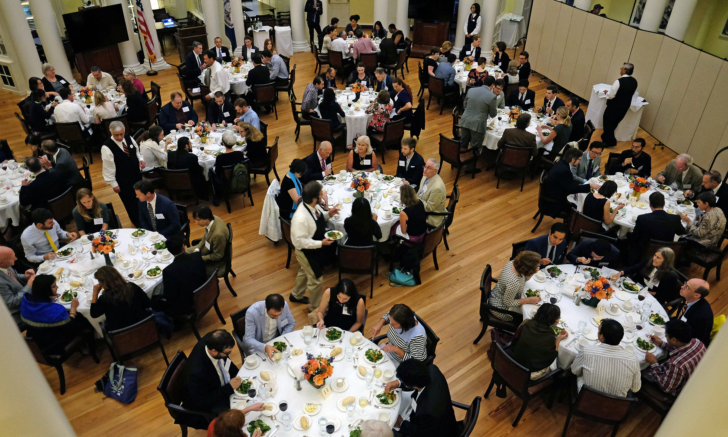 FACULTY WELCOME DINNERS -