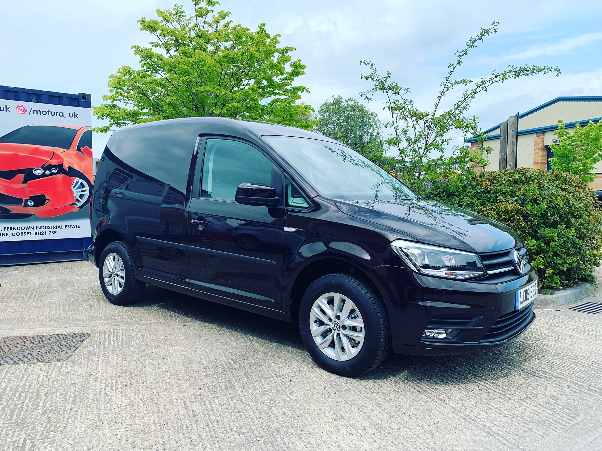 A VW Caddy Highline out on a 6 month lease..