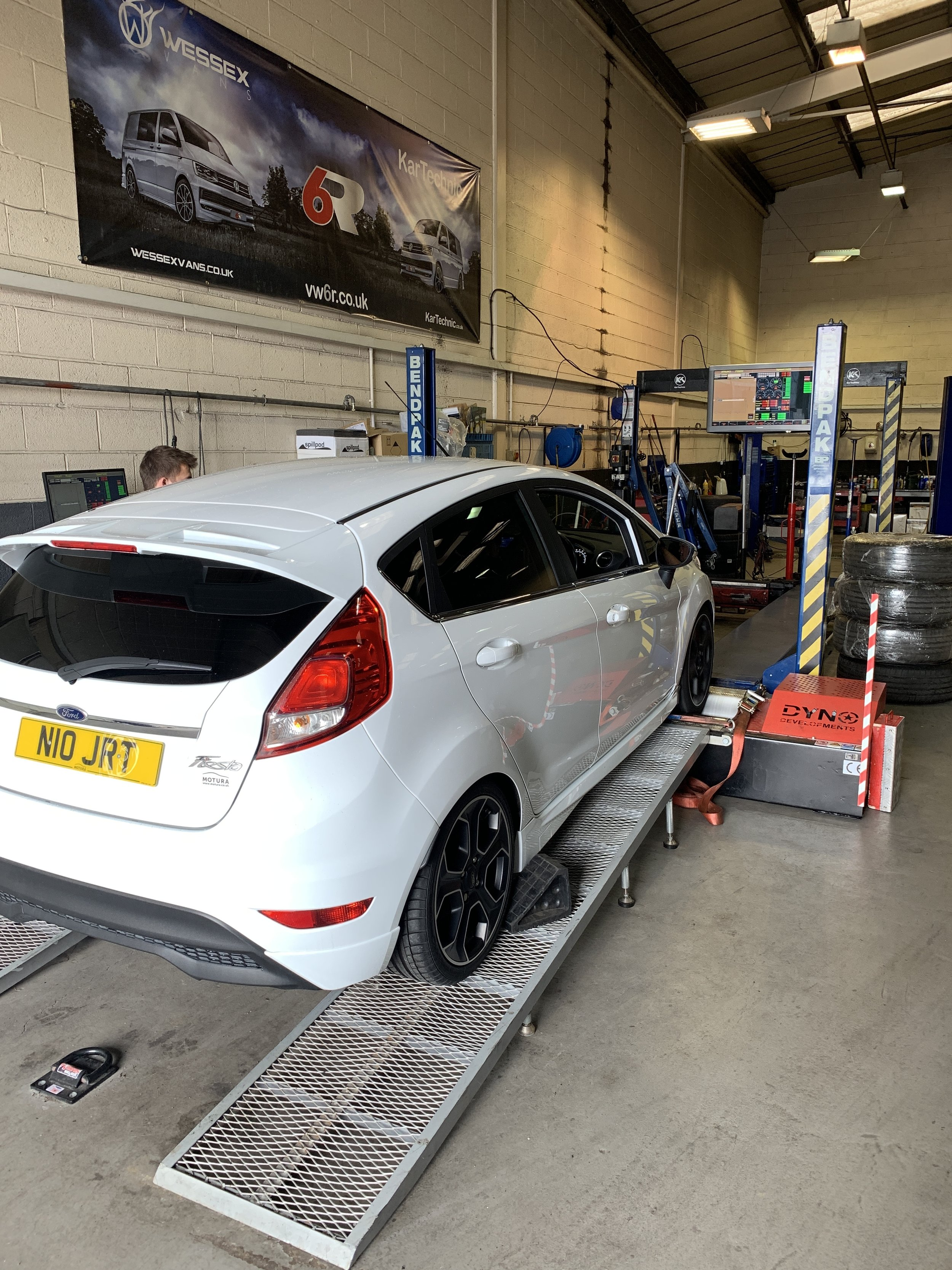 Our 1.0 Ecoboost Fiesta now producing over 170bhp..