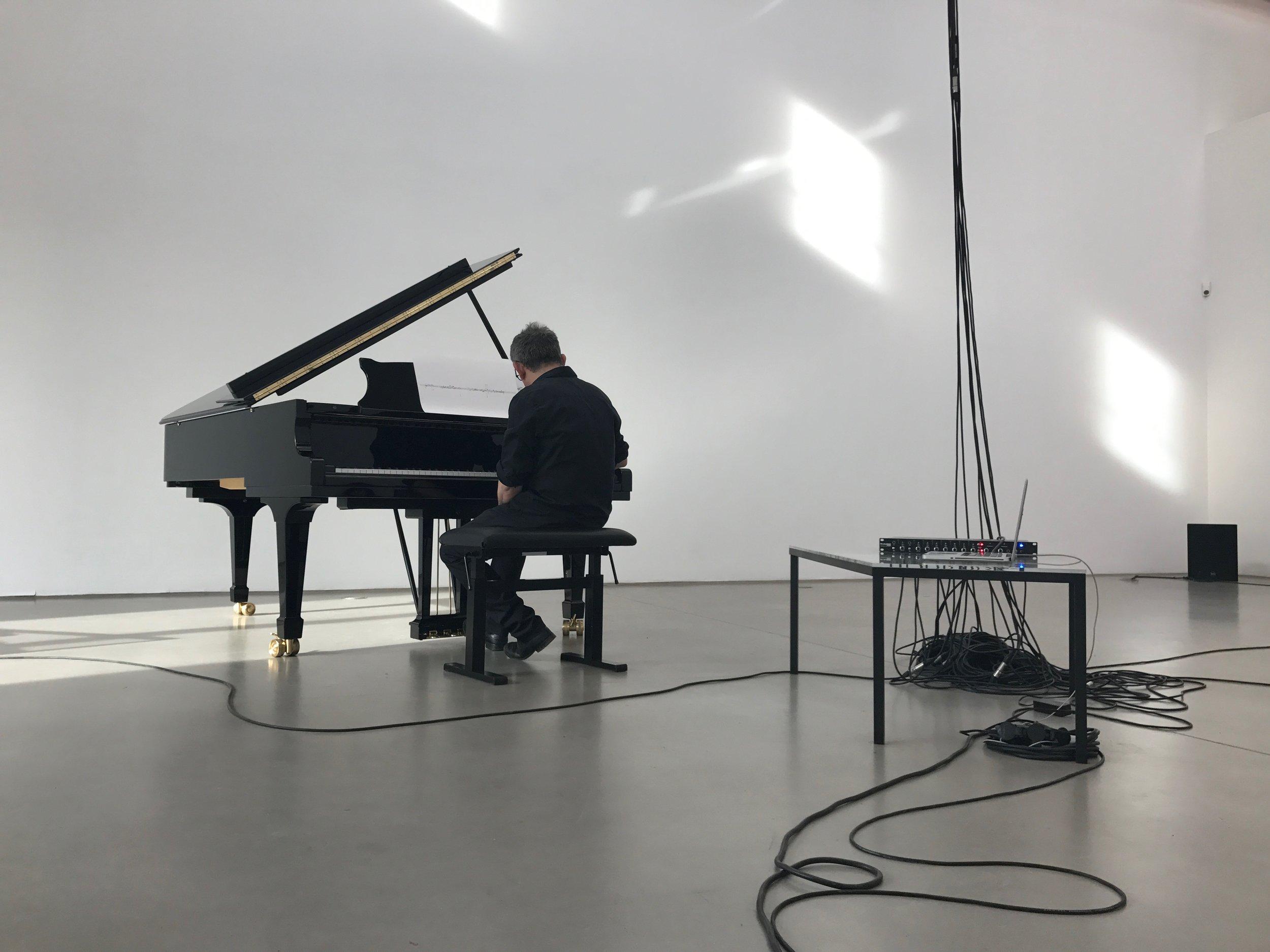 Marino Formenti, performance view