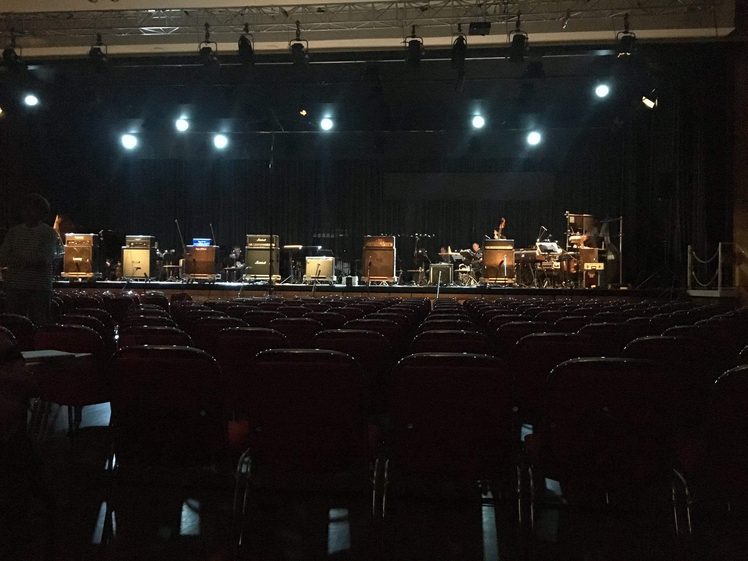 Deathstar Orchestration,  performance./installation view, Donaueschinger Musiktage, October, 2017