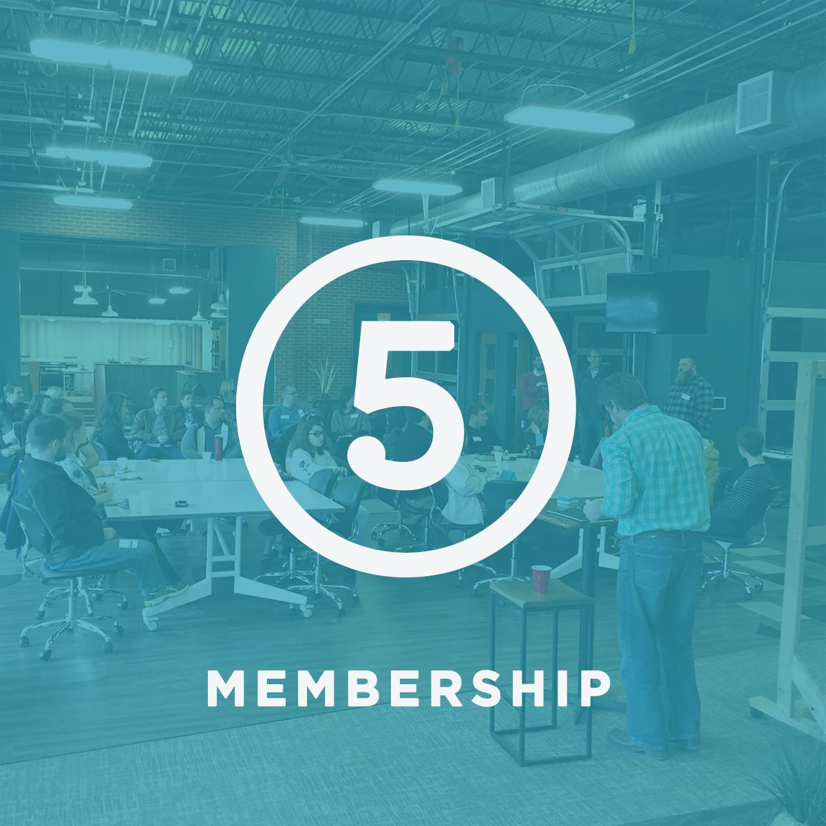 Step 5 Membership