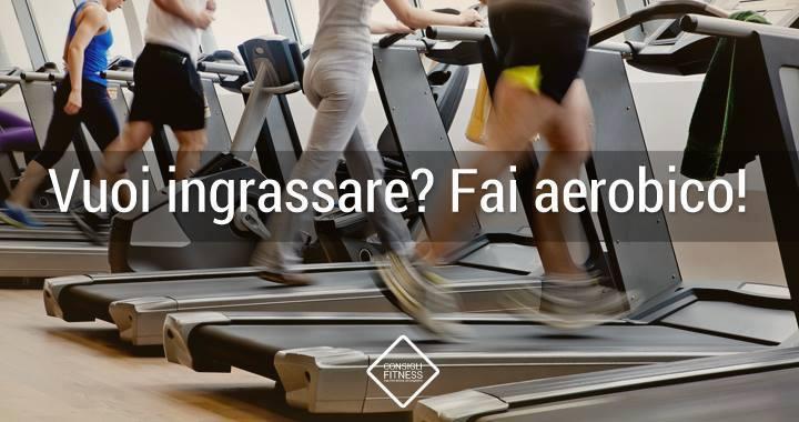 l'aerobica fà ingrassare?