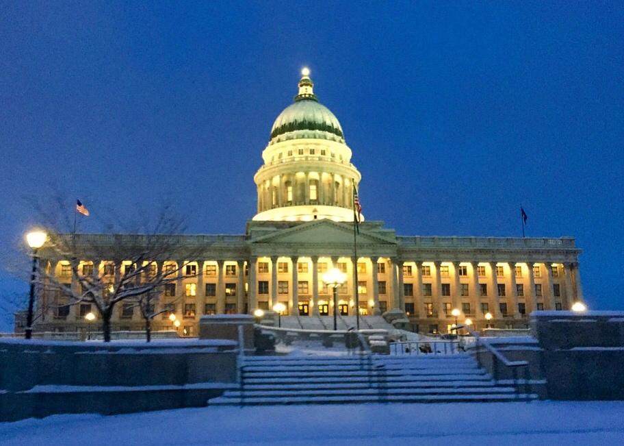 Utah State Capitol Building - Salt Lake City