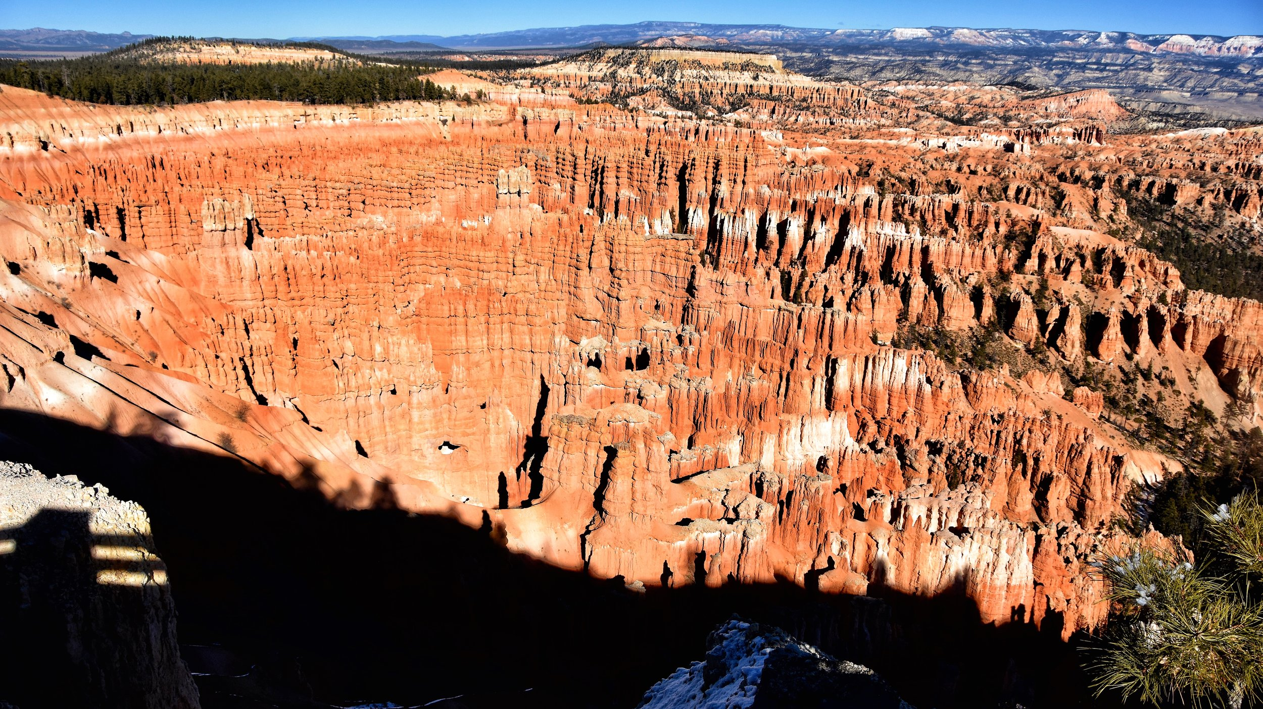 The Bryce Amphitheater viewed from Inspiration Point.