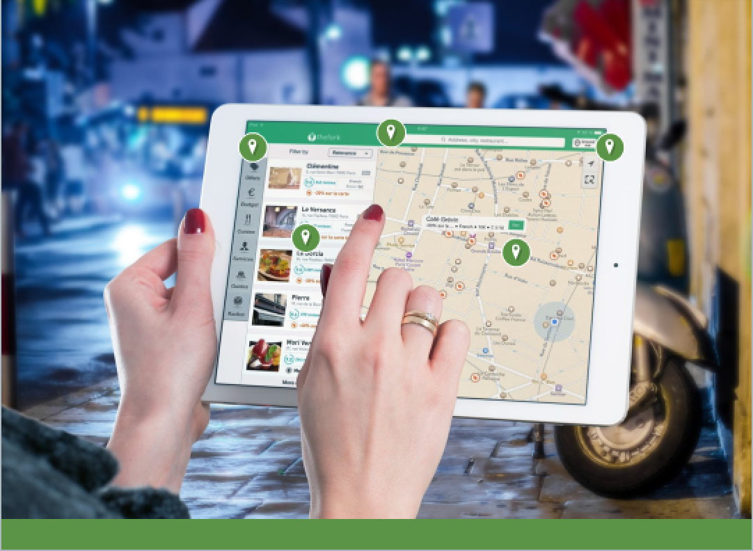 Explore an App - Learn about features on an app that helps you order apps.