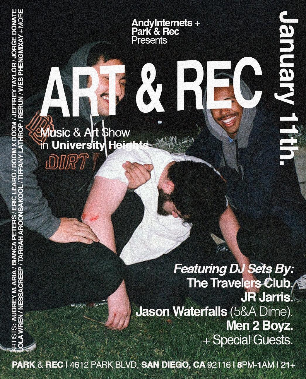 Art & Rec - January 4 Friends.JPG