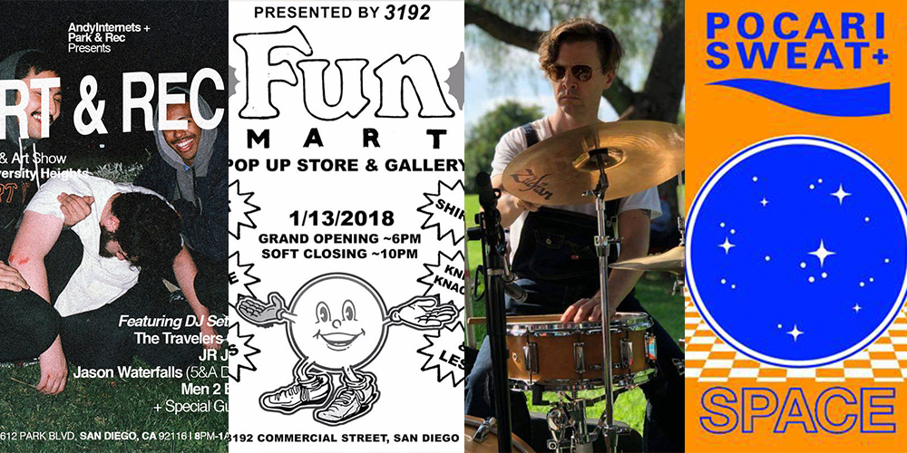 January San Diego Parties In the Weekend