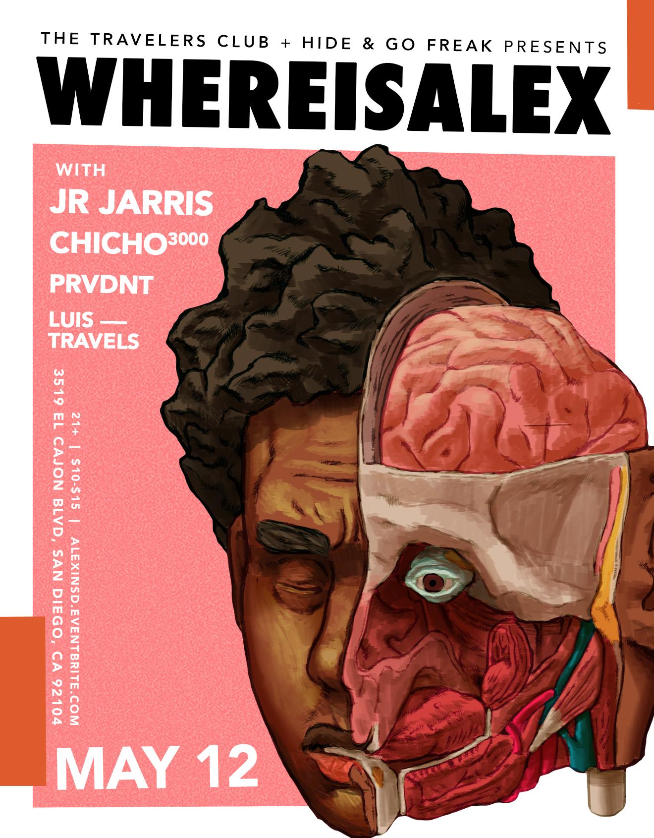 WHEREISALEX - San Diego - The Travelers Club