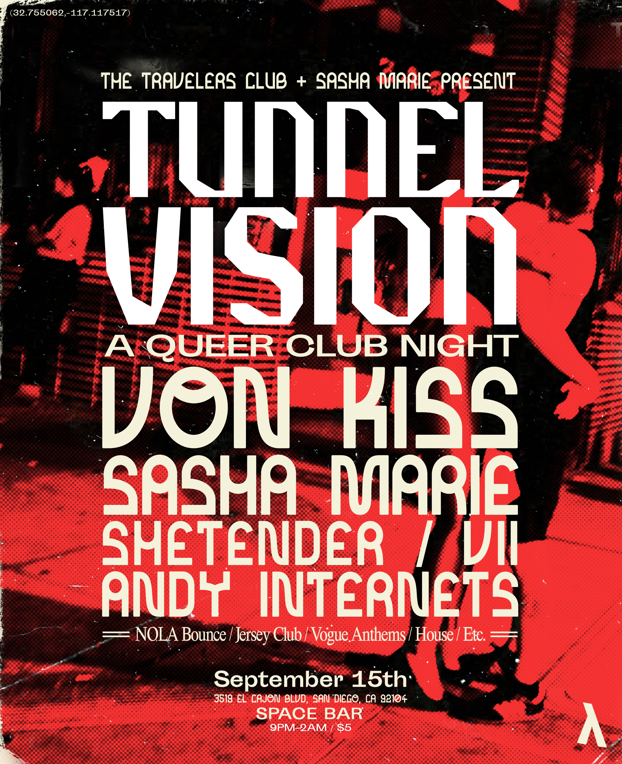 Tunnel Vision at SPACE Bar