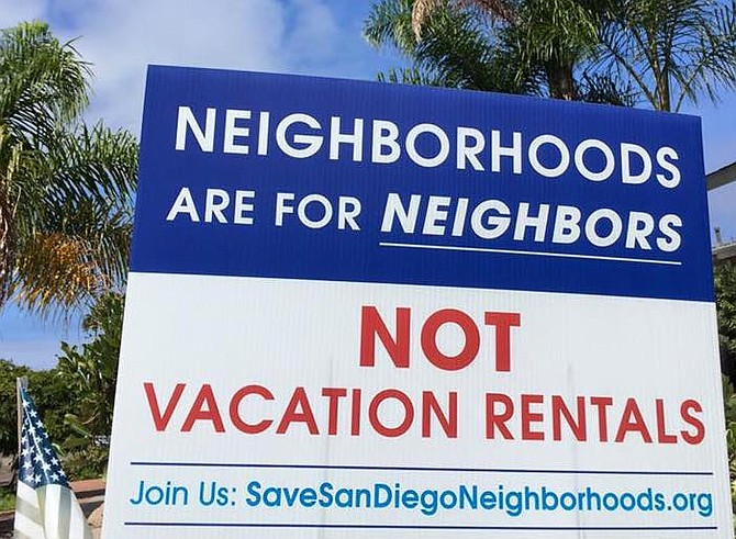 """""""Fuck Airbnb"""" - San Diego"""