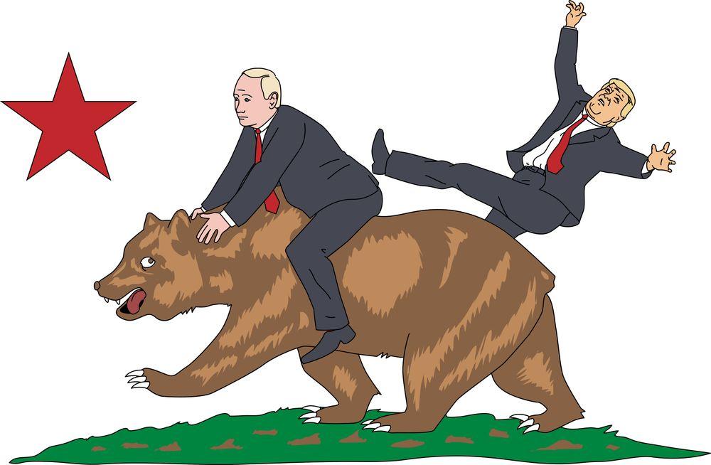 Vladimir Putin Takes California