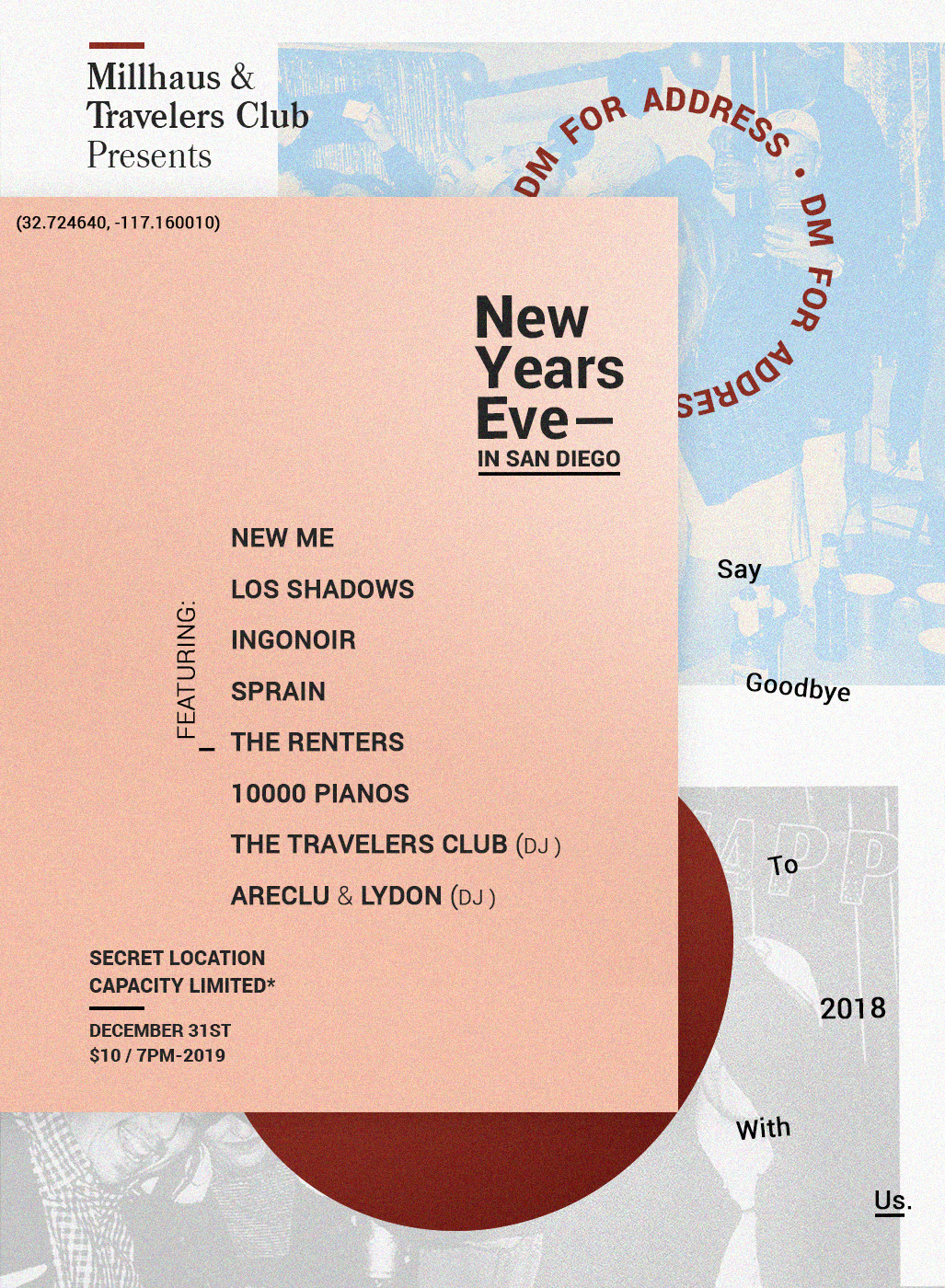 New Years Eve at Helmuth Projects